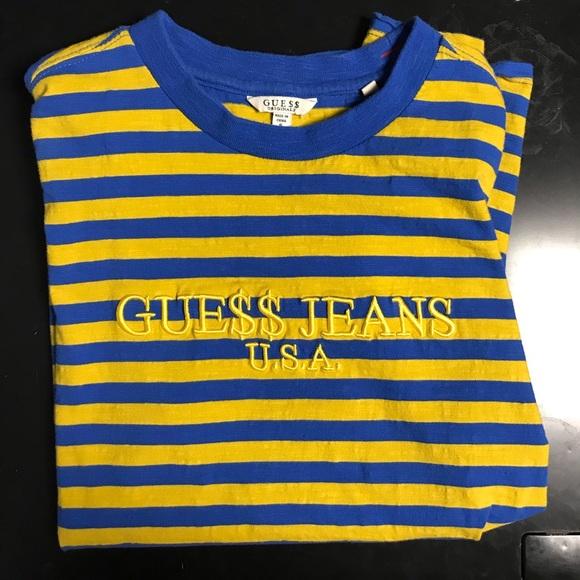 c2aba4315b10 Guess Shirts | Mens Jeans X Asap Rocky Tshirt | Poshmark